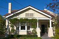 Californian Bungalow timber house ca. 1920 in the southeast suburbs of Melbourne, Australia (property release available on request).