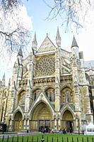 Westminster Abbey or Collegiate Church of St. Peter of Westminster, London