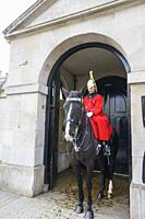 Horse Guards at The Household Cavalry Museum, London