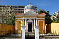 France, Corsica, city of Ajaccio, the marine cemetery