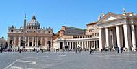 Vatican City in Rome Italy.