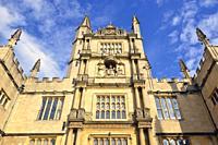The Bodleian library, Oxford, England, United Kingdom.