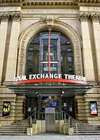 The Royal Exchange Theatre, Manchester, England, United Kingdom.