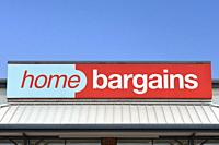 Home Bargains Store, UK.
