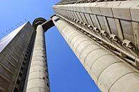 Genex Tower, Belgrade, Serbia.