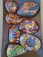 Decorative stones for sale.