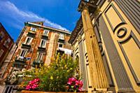 San Paolo Maggiore basilica church, place of Gaetano Thiene, known as Saint Cajetan, Naples city, Campania, Italy, Europe.