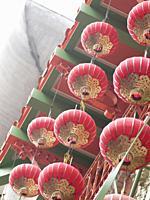 Red lanterns in Chinatown, San Francisco.