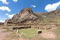 Pukara ruins, near the city of Cuzco,Peru.