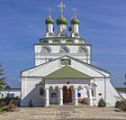 Epiphany monastery church (1687), Mstera, Vladimir region, Russia.