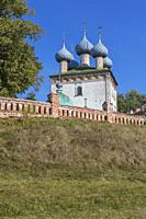 Assumption church, Bolshie Vsegodichi, Vladimir region, Russia.