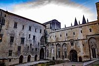 Palais des Papes in Avignon, France.