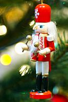 Nutcracker Christmas decoration.