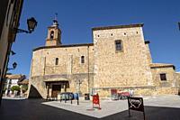 Iglesia de Santa María de Calatañazor, siglo XVI, Almazán, Soria, comunidad autónoma de Castilla y León, Spain, Europe.
