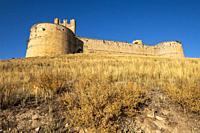 castillo del siglo XV, Berlanga de Duero, Soria, comunidad autónoma de Castilla y León, Spain, Europe.