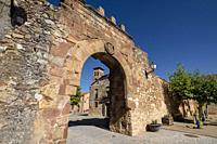 arco de arriba - puerta de oriente, Conjunto medieval amurallado, Retortillo de Soria, Soria, comunidad autónoma de Castilla y León, Spain, Europe.