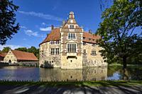 Luedinghausen, D-Luedinghausen, Stever, Muensterland, Westphalia, North Rhine-Westphalia, NRW, Vischering Castle, moated castle, knights castle, Middl...