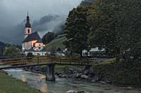Ramsau bei Berchtesgaden, Bavaria, Germany, Europe.
