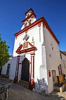 Santisima Trinidad chapel, Almonaster La Real, Natural Park Sierra de Aracena & Picos de Aroche, Huelva province. Southern Andalusia, Spain. Europe.