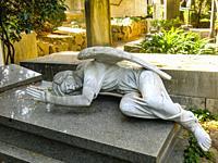 "Graves of Federico Mauke born March 28th and died in 1996 Rome and of Velicka Atanasova Mauke 1917â. ""2008, Non-Catholic Cemetery, Rome, Lazio, Italy."
