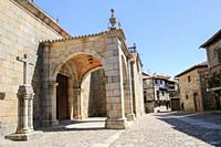 Church of the Assumption, La Alberca, Salamanca Province, Spain.