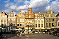 Old marketplace, Poznan, Poland, Europe.