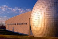 The James Naismith Memorial Basketball Hall of Fame in Springfield, Massachusetts.