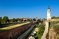 Belgrade's historic Kalemegdan Fortress, the largest fortification in Serbia's capital city.