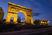 arco de triunfo romano, siglo I a. C. , Medinaceli, Soria, comunidad autónoma de Castilla y León, Spain, Europe.