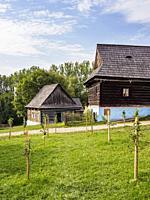 Open Air Museum at Stara Lubovna, Presov Region, Slovakia.