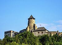 Castle in Stara Lubovna, Presov Region, Slovakia.