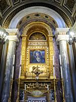 The Church of the Madonna dell'Archetto (English: Our Lady of the Little Arch) is a small oratory in Rome, Italy, in the Trevi rione. The official tit...