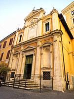 Oratorio del Santissimo Crocifisso or the Oratory of the Most Holy Crucifix - Rome, Italy.