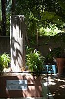 Yves Saint Laurent and Pierre Berge Memorial at Majorelle Gardens in Marrakesh, Morocco.