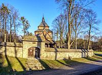 St. Paraskevi Church, UNESCO World Heritage Site, Radroz, Subcarpathian Voivodeship, Poland.