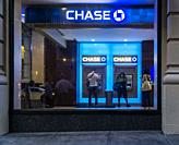 A branch of JPMorgan Chase bank in New York on Tuesday, August 20, 2019.