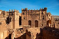 famous kasbah of Telhouet in Morocco