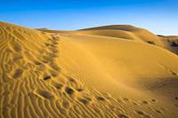 Maranjab desert. Near to Kashan city. Iran, Asia.