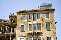Beit Beirut, a building ravaged during the civil war, now repaired and tranformed in a Museum and Urban Cultural Center. The building is also known as...