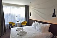 Dunetton Hotel, Klaipeda, port city on the Baltic Sea, Lithuania, Europe.