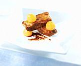 Asado de costillar de cerdo con peras / Roast pork ribs with pears
