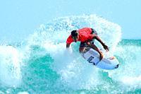 Kanoa Igarashi (JPN), SEPTEMBER 19, 2018 - Surfing : ISA World Surfing GamesMen's Final at Pacific Long Beach in Aichi, Japan.