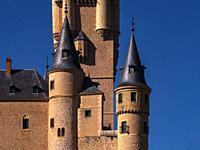 Spain, Castilla-Leon, Segovia, Alcázar of Segovia