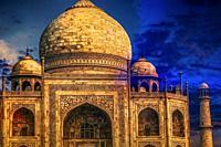 India, the Taj-Mahal