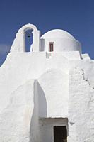 Church, Mykonos Town, Mykonos Island, Cyclades Group, Greece