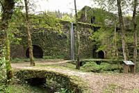 The old foundry powered by water of Agorregi, Pagoeta Natural Park, Basque Country, Spain.
