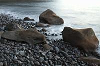 Coastal landscape. Las Playas Natural Monument. Valverde. El Hierro. Canary Islands. Spain.