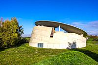 Modern architecture on the site of a former NATO missile base, Insel Hombroich, Neuss, Germany, Europe.