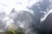 Views of Machu Picchu.