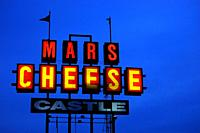 Mars Cheese, one of several specialty cheese shops in Wisconsin.